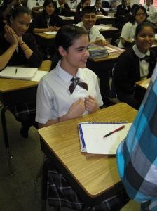 Dianna Baez, 8th grade winner