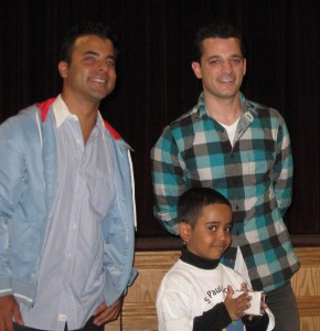 Faeez Sharwah with Benj Gershman and Marc Roberge