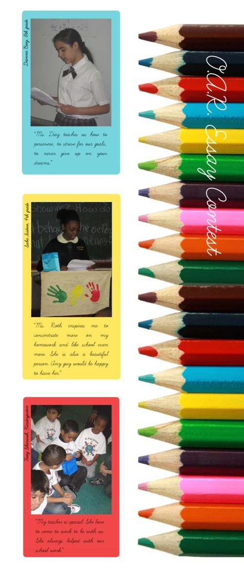 Snapshot of O.A.R. Essay Contest